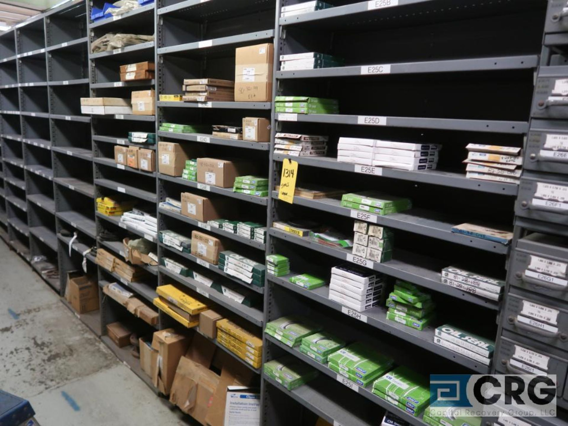 Lot of assorted bearings on (18) sections of metal shelving (located in Basement Store) - Image 15 of 17