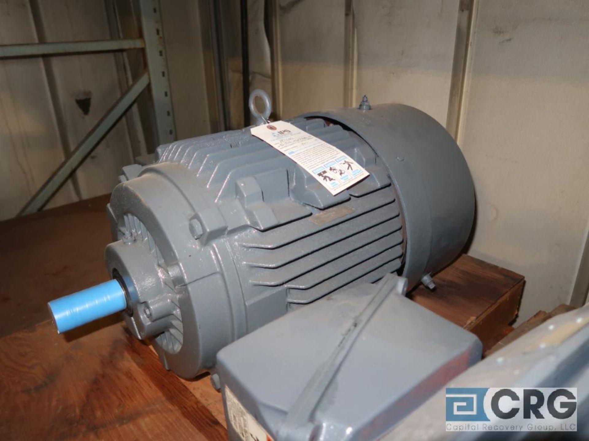 Lot of (3) assorted 25 HP motors (Motor Building) - Image 3 of 3