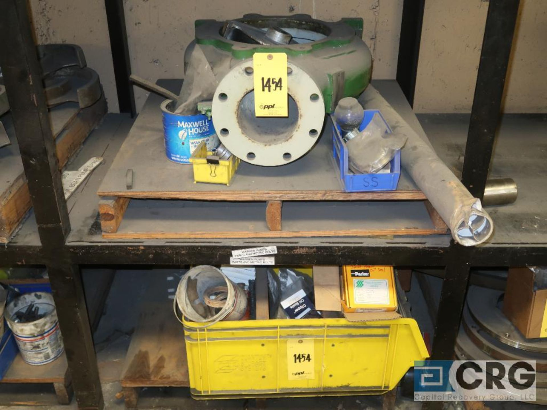 Lot of (5) sections of assorted Warren parts including cassing, impeller, and face plate (Basement - Image 2 of 3