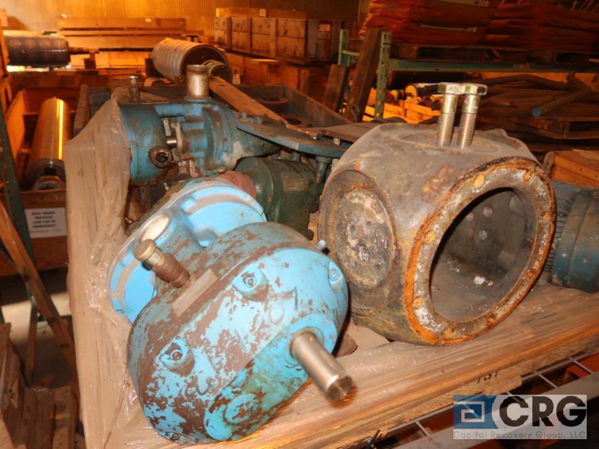 Lot of assorted parts including expansion joint, valves, fan blade, and rotors (Next Bay Cage Area) - Image 7 of 15