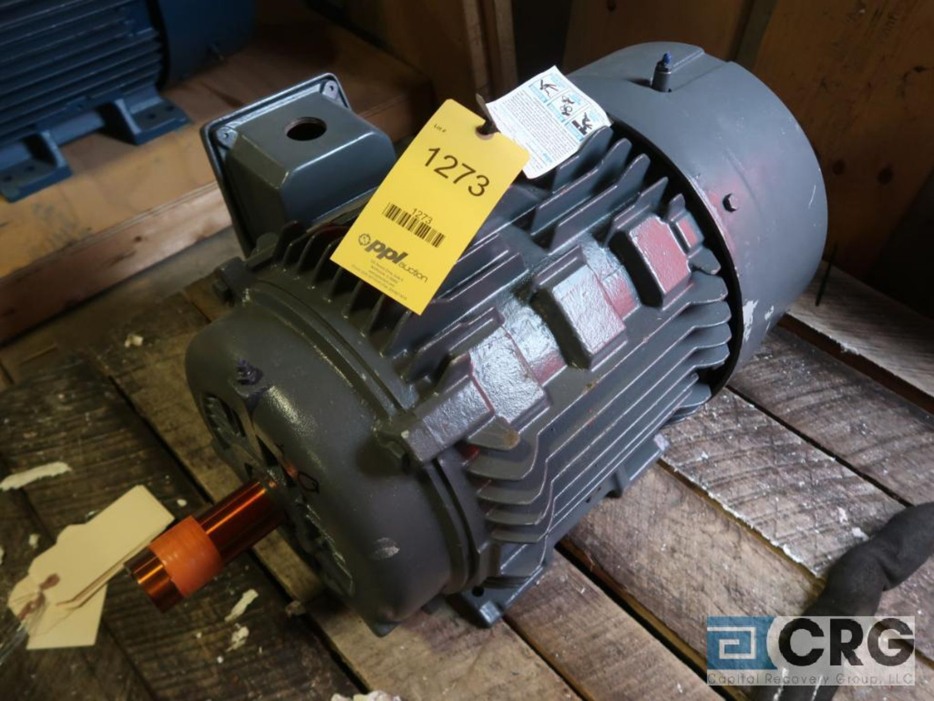 Lot of (3) assorted 30 HP motors (Motor Building) - Image 2 of 3