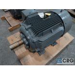 Siemens NEMA Premium Efficiency motor, 60 HP, 1,185 RPMs, 460 volt, 3 ph., 404T frame (Finish
