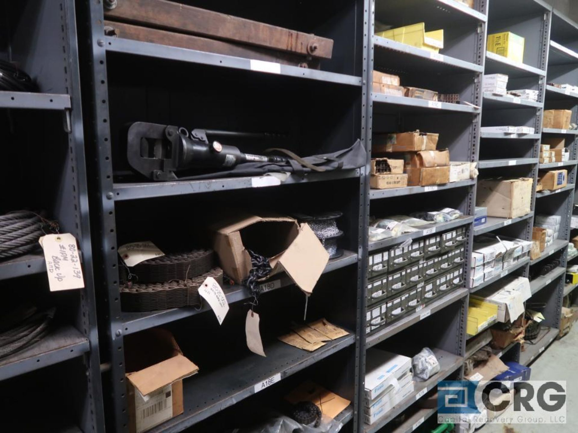 Lot of (14) sections with cable, chain, pulley, and conduit-CONTENT ONLY (Store Basement) - Image 3 of 10