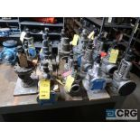 Lot of (19) assorted safety relief valves (Store Basement)