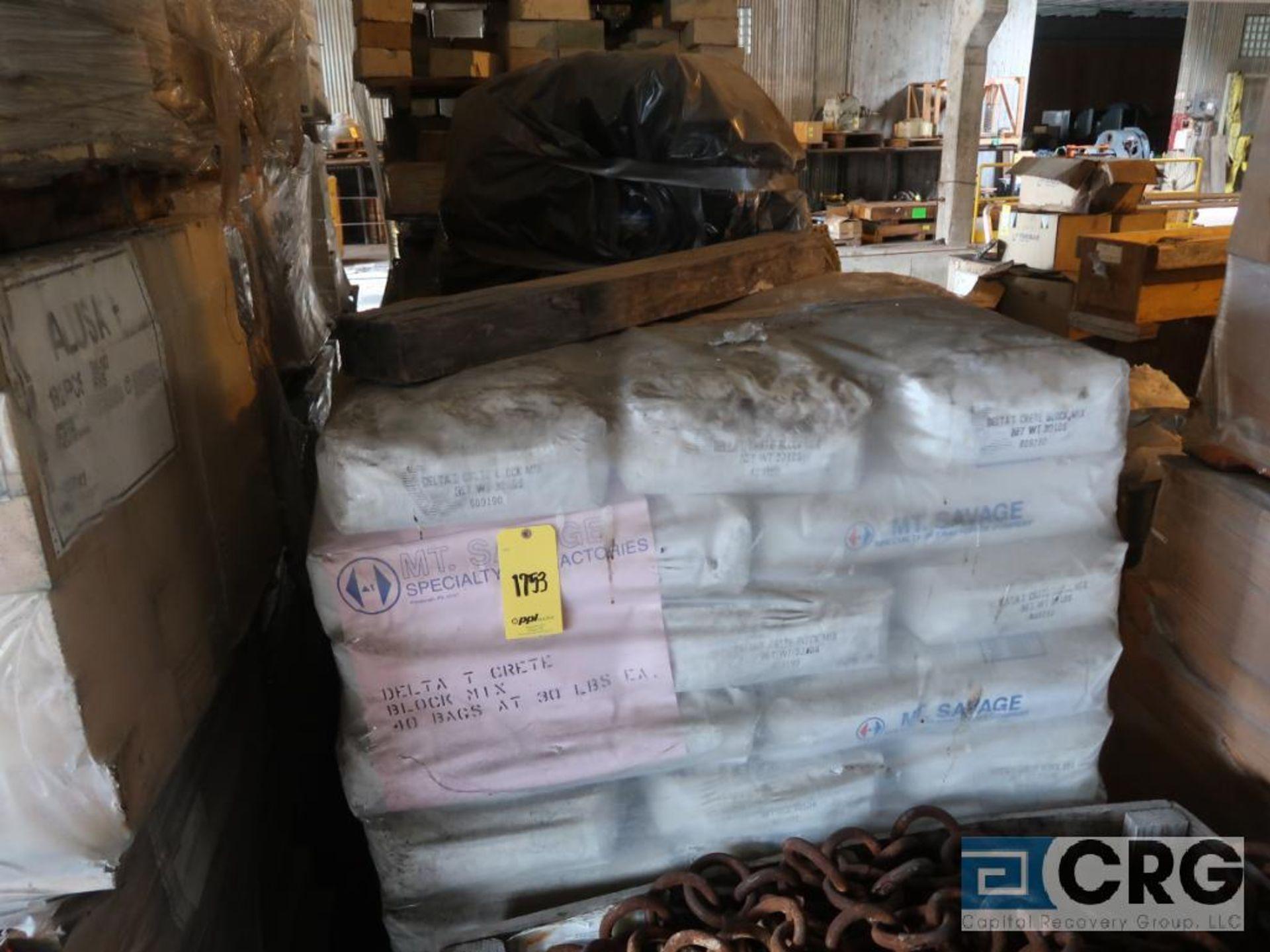 Lot of (31) pallets kiln brick, (1) pallet crete block mix, and (3) pallets ceramic coupling (Next - Image 3 of 5