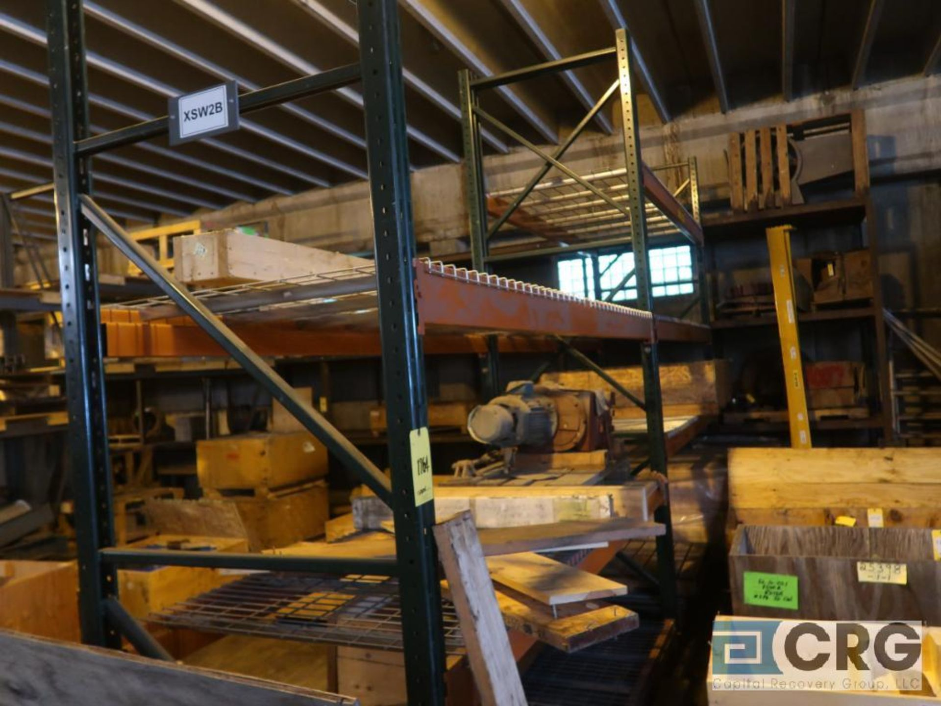 Lot of (24) sections pallet rack including (5) 8 ft. x 48 in. W, (24) 8 ft. cross bars, (4) 8 ft. - Image 5 of 7
