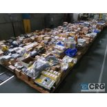 Lot of assorted electrical automation on (32) pallets including modems, sensors, breakers, touch