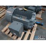 Siemens PE-21 PLUS motor, 75 HP, 1,185 RPMs, 460 volt, 3 ph., 405T frame (Finish Building)