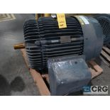 Reliance electric motor, 125 HP, 3,570 RPMs, 460 volt, 3 ph., 444TS frame (Finish Building)