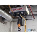Electric chain hoist, 1 ton cap.-no rail (Stores Area)