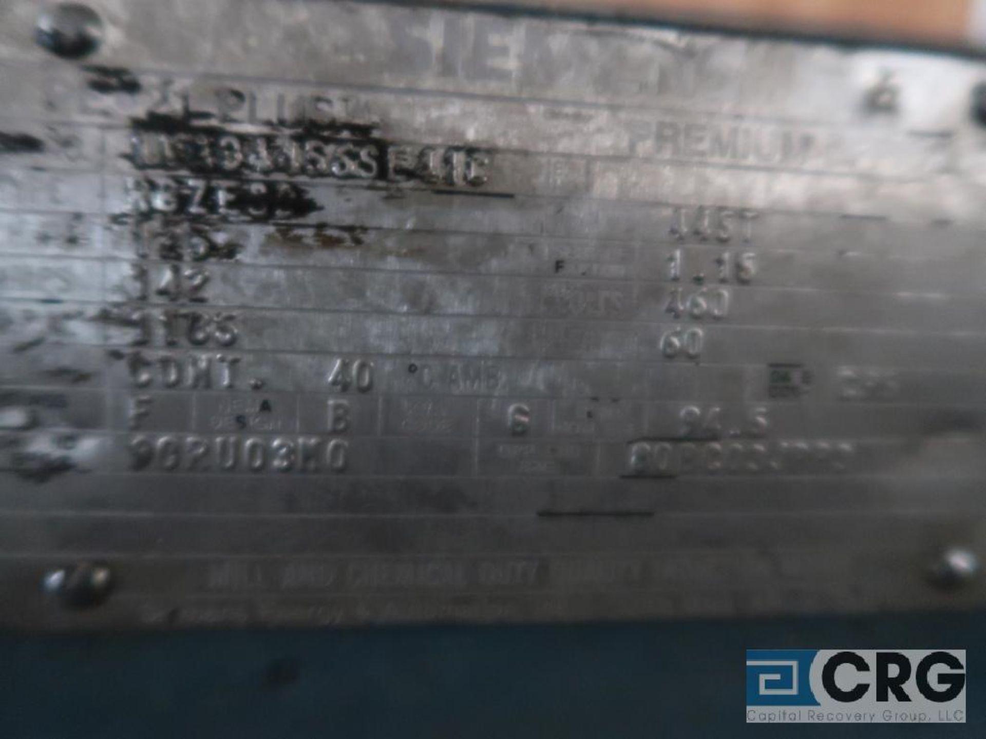 Siemens 125 HP motor, 460 volt, 3 ph., 1,185 RPM, frame 445T (Off Site Warehouse) - Image 2 of 2