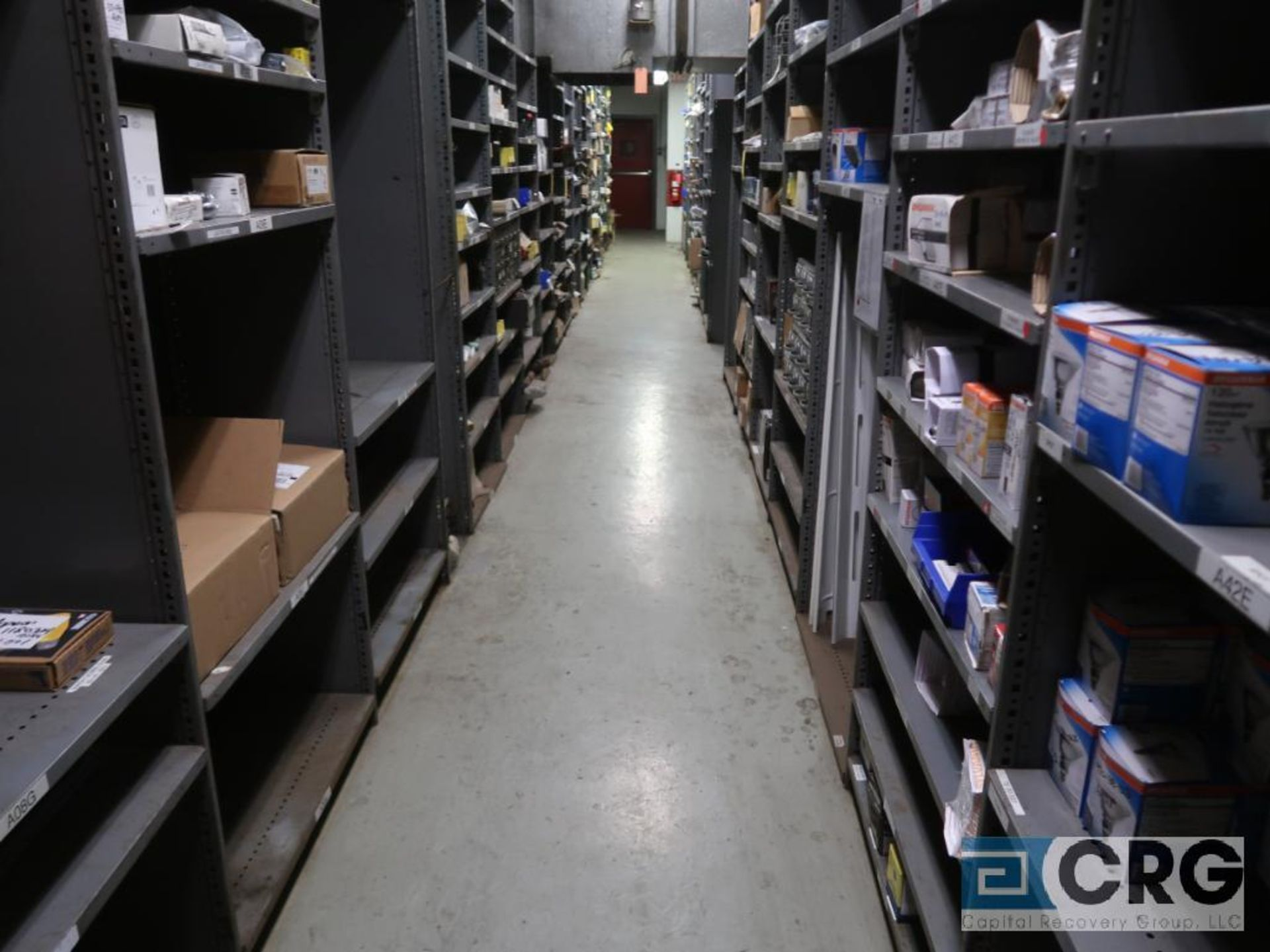 Lot of (135) sections metal shelving (Front of Stores Area) - Image 8 of 9
