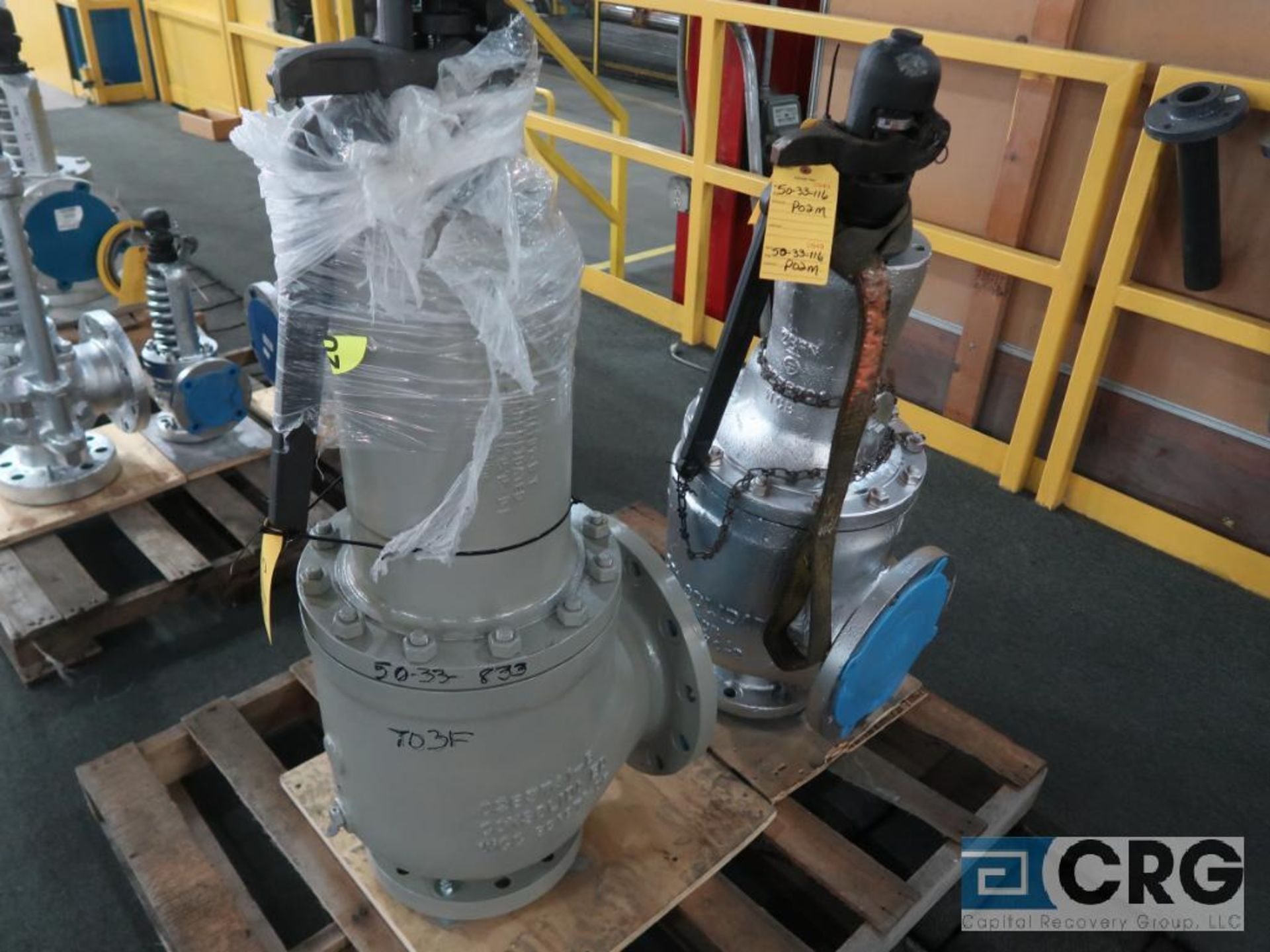GE 1910-00R3CCT034RF safety relief valve, 6 x 10, s/n SF27725 (Finish Building)
