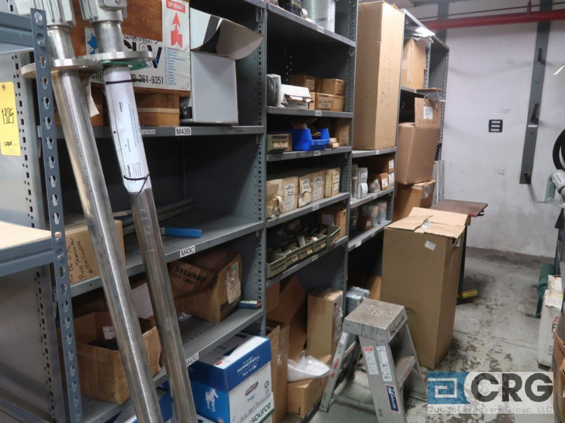 Lot of (20) sections with assorted parts including valve gasket, conveyor, roller, sight glass, - Image 6 of 12