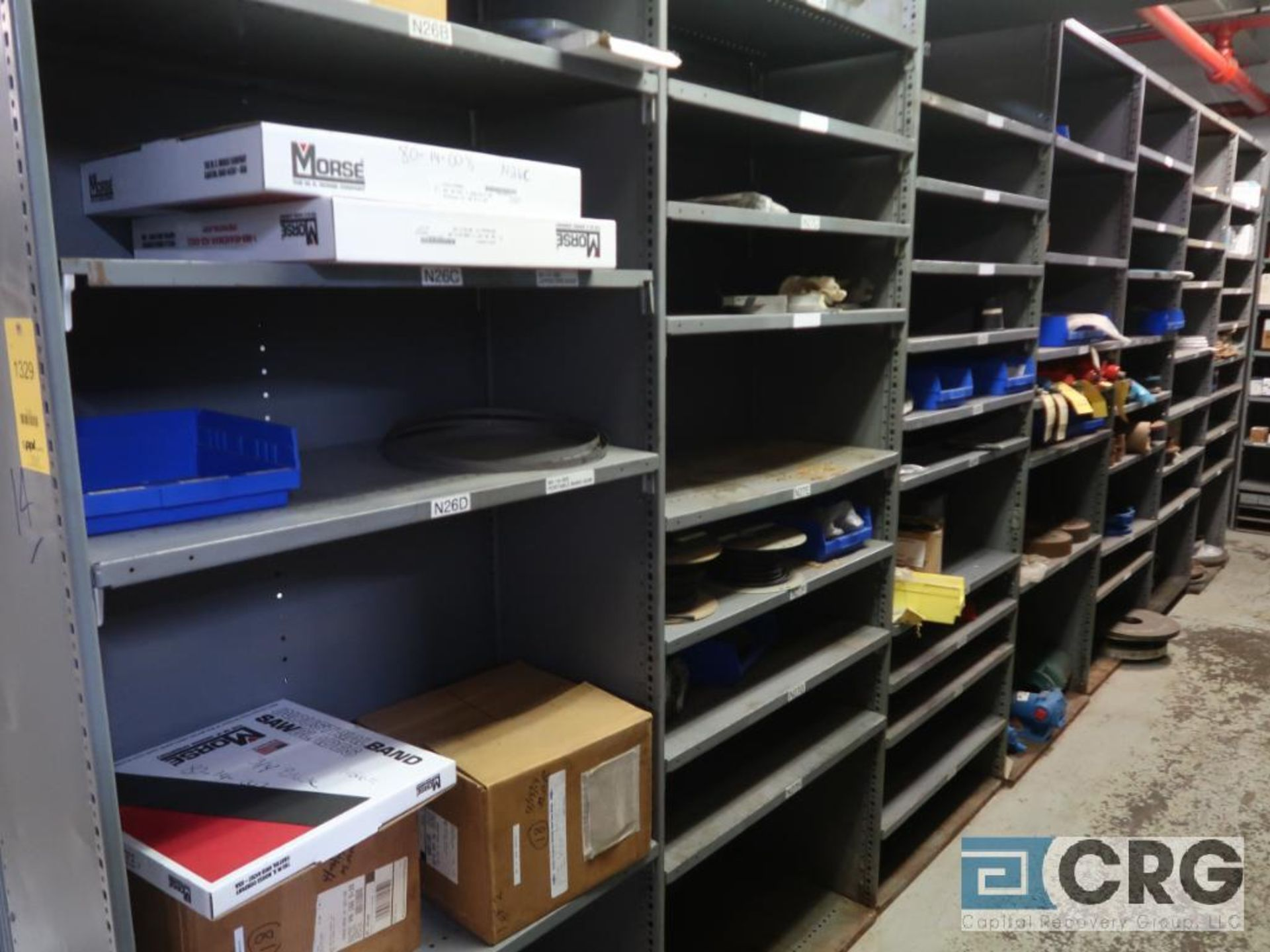 Lot of (16) sections with assorted pumpparts including gaskets, rupture discs, valves, and drives- - Image 2 of 8
