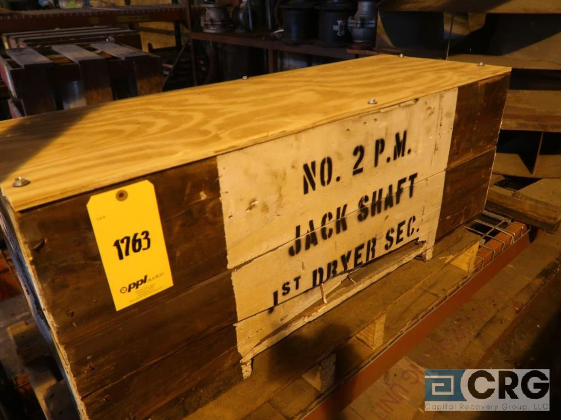Lot of assorted parts including expansion joint, valves, fan blade, and rotors (Next Bay Cage Area) - Image 11 of 15