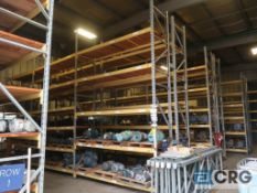 Lot of pallet racking including (29) sections as follows: (33) uprights, 17 ft. tall x 36 in. deept,