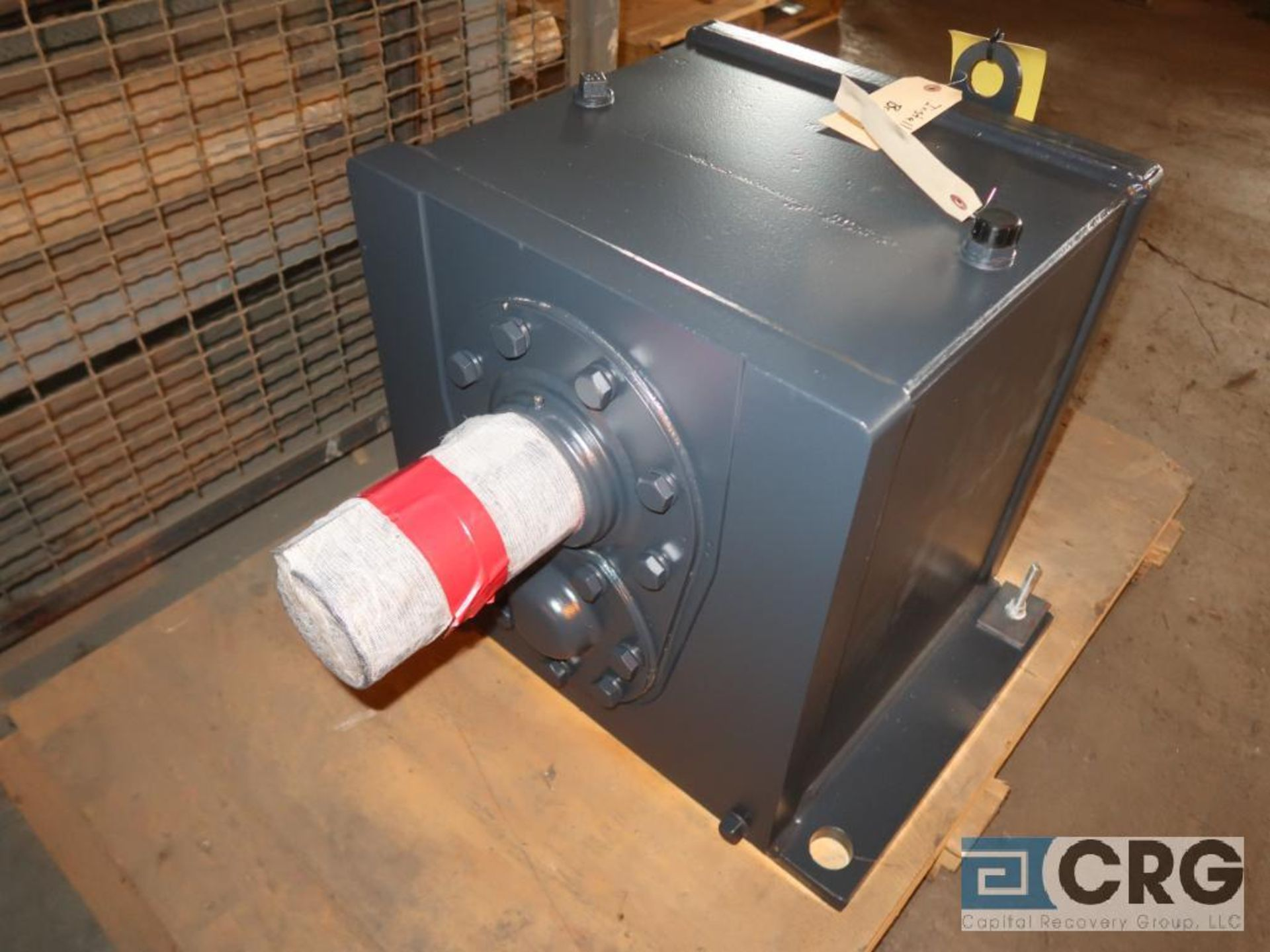 Falk 1080FZ34 gear drive, ratio-48.11, input RPM 1,750, output RPM 36, service rate HP. 25, s/n - Image 2 of 3