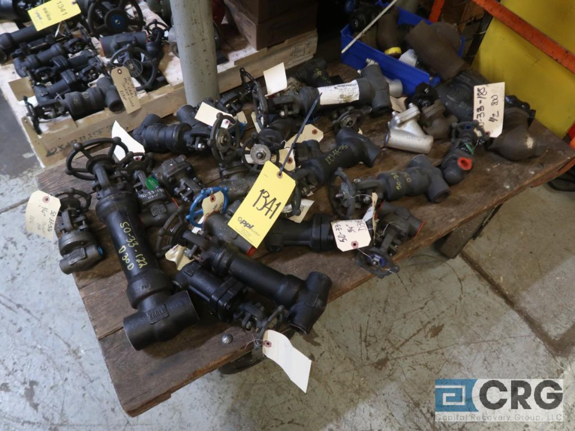 (1) pallet and (1) cart with assorted ball valves (Store Basement) - Image 2 of 2