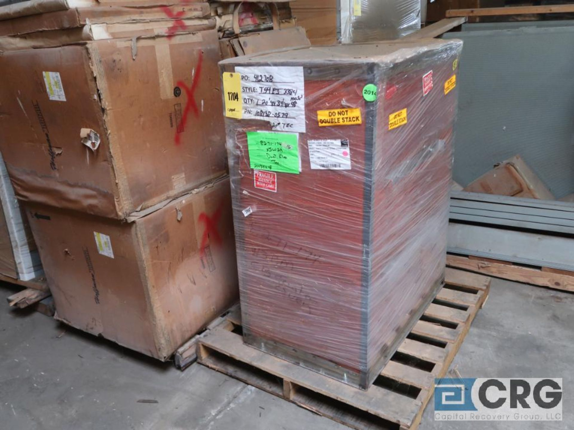 Uniclad 2000 KVA dry type transformer, 3 ph., HV 22860, BIL .125 KV, LV 480 GRDY/277 BIL. 10 KV, (5) - Image 3 of 4