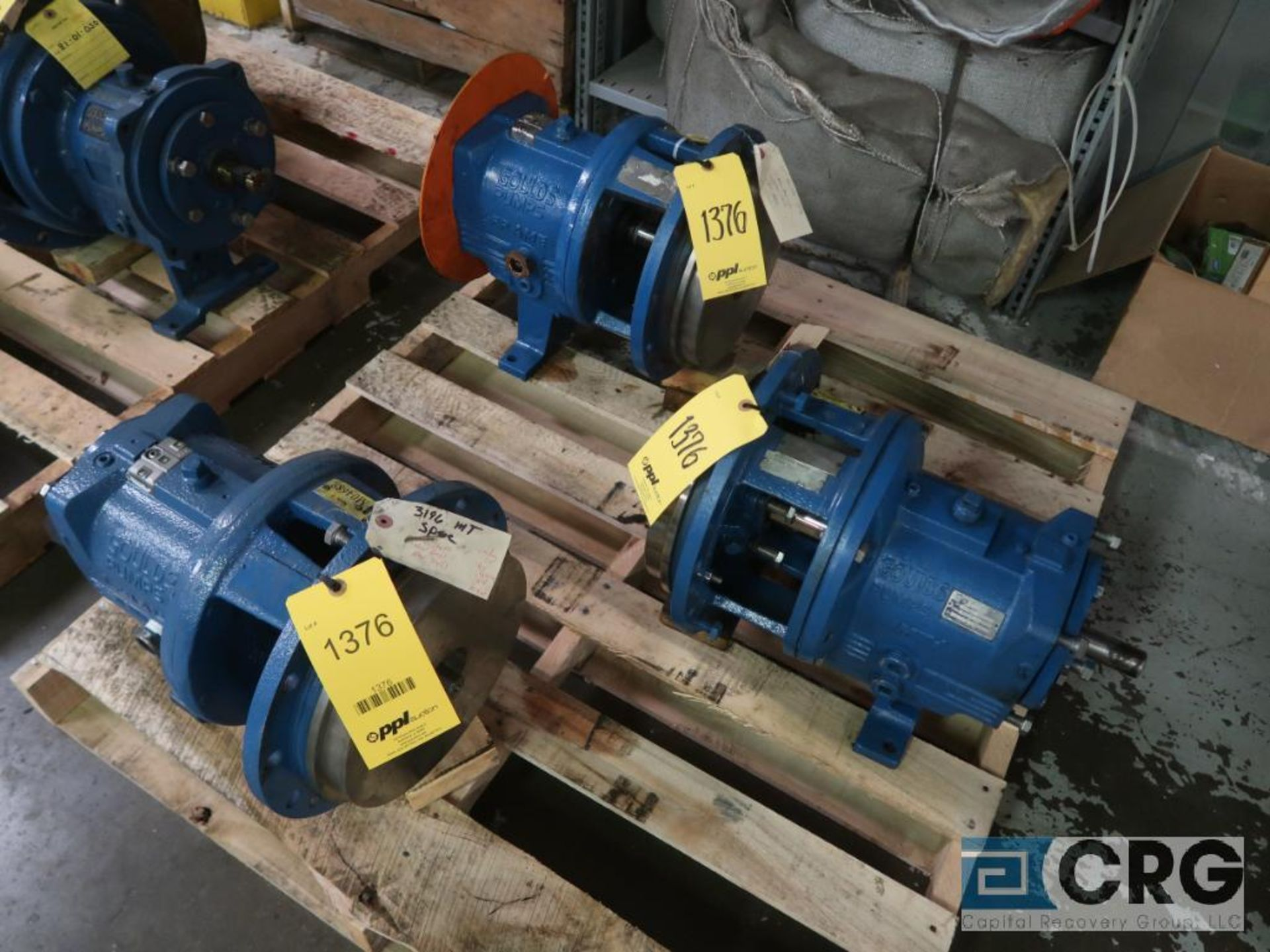 Lot of (3) Goulds 3196 10 in. pumps, (2) MT, and (1) MTX (Basement Stores)