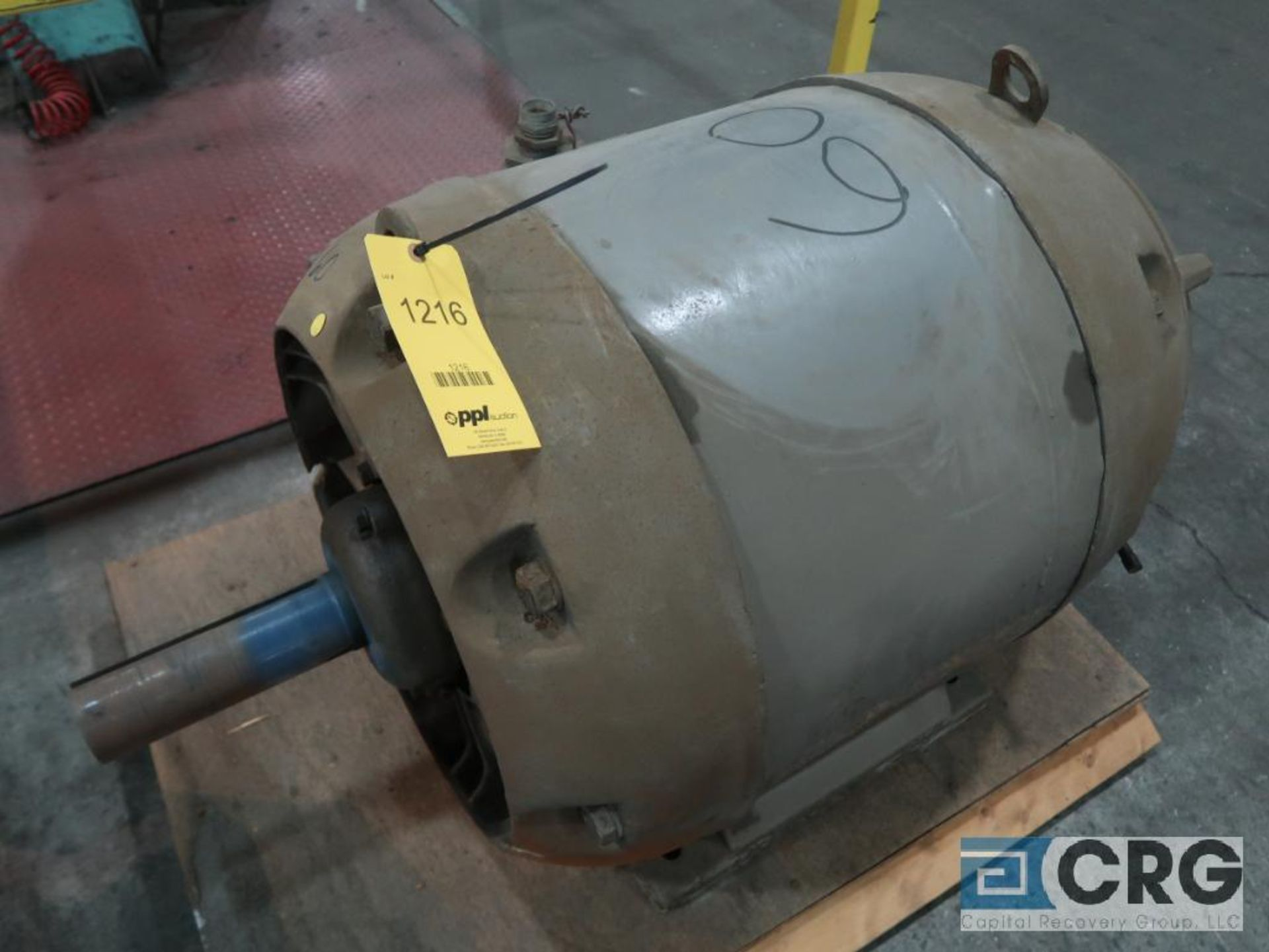 Louis-Allis induction motor, 60 HP, 1,180 RPMs, 220/440 volt, 3 ph., 504U frame (Finish Building)