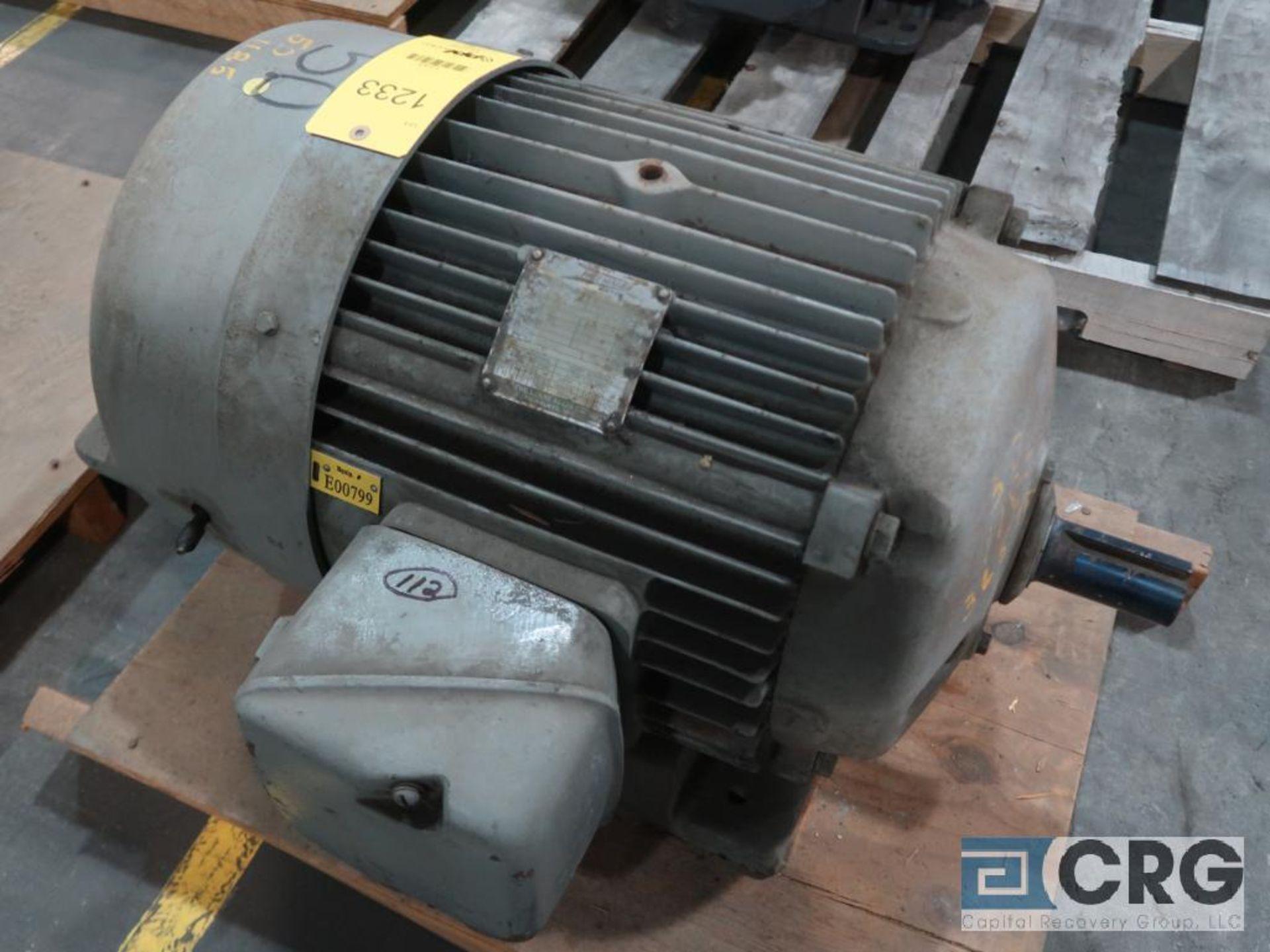 Louis-Allis Pacemaker motor, 50 HP, 1,185 RPMs, 230/460 volt, 3 ph., 365TS frame (Finish Building)