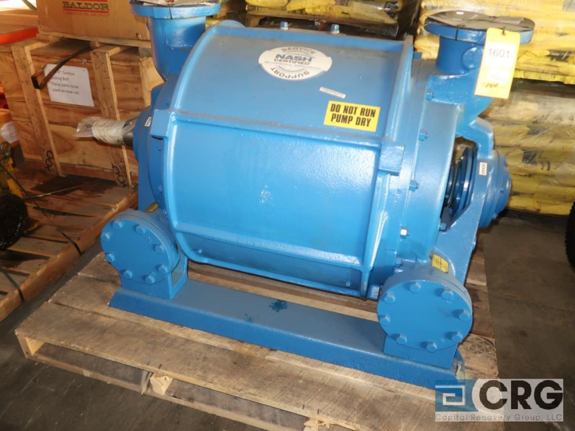 Nash CL2001 vacuum pump, remanufactured year 2017 (Off Site Warehouse)