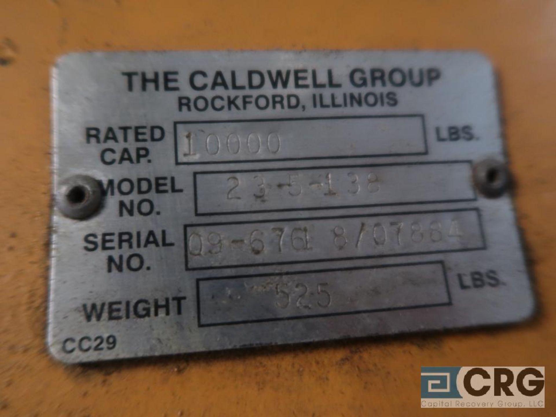 "Caldwell spreader bar, 5 Ton capacity, 11' 11"" span (PM1 Area) - Image 2 of 2"