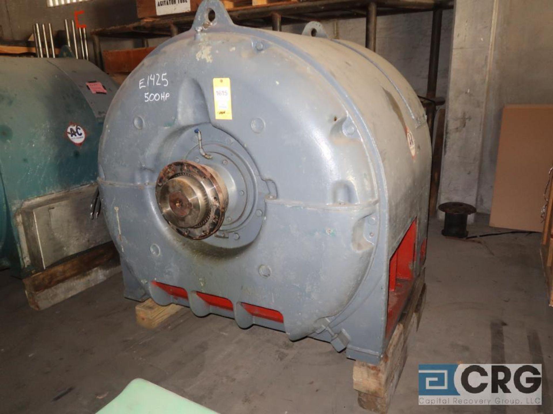 Allis Chalmers 500 HP motor, 2,300 volt, 3 ph., 514 RPM, s/n 160972 (Off Site Warehouse)