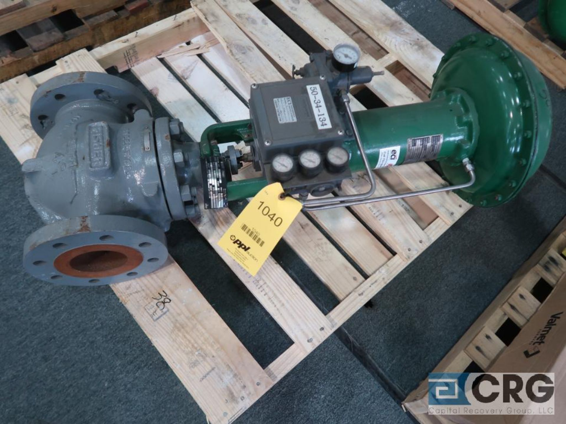 Fisher 667 relief actuator valve, size 4 3/8, rating CL300, s/n 8917770 (Finish Building)