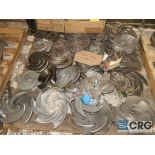 Lot of Goulds 3196 assorted impellers (Basement Stores)