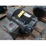 Siemens AC Machine motor, 75 HP, 1,185 RPMs, 460 volt, 3 ph., 405T frame (Finish Building)
