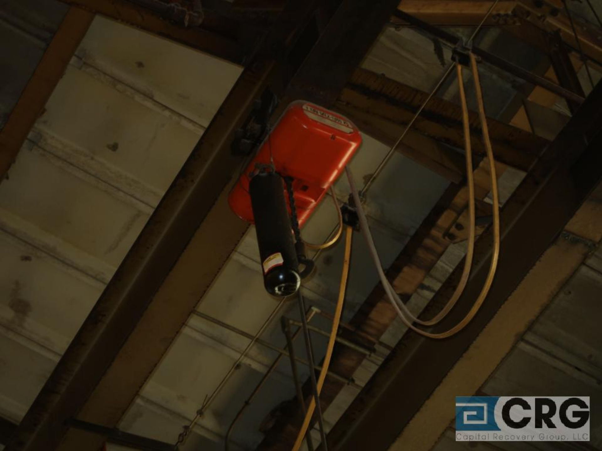 Electric hoist, 1 ton, hoist only, no beam (Located Level 530)