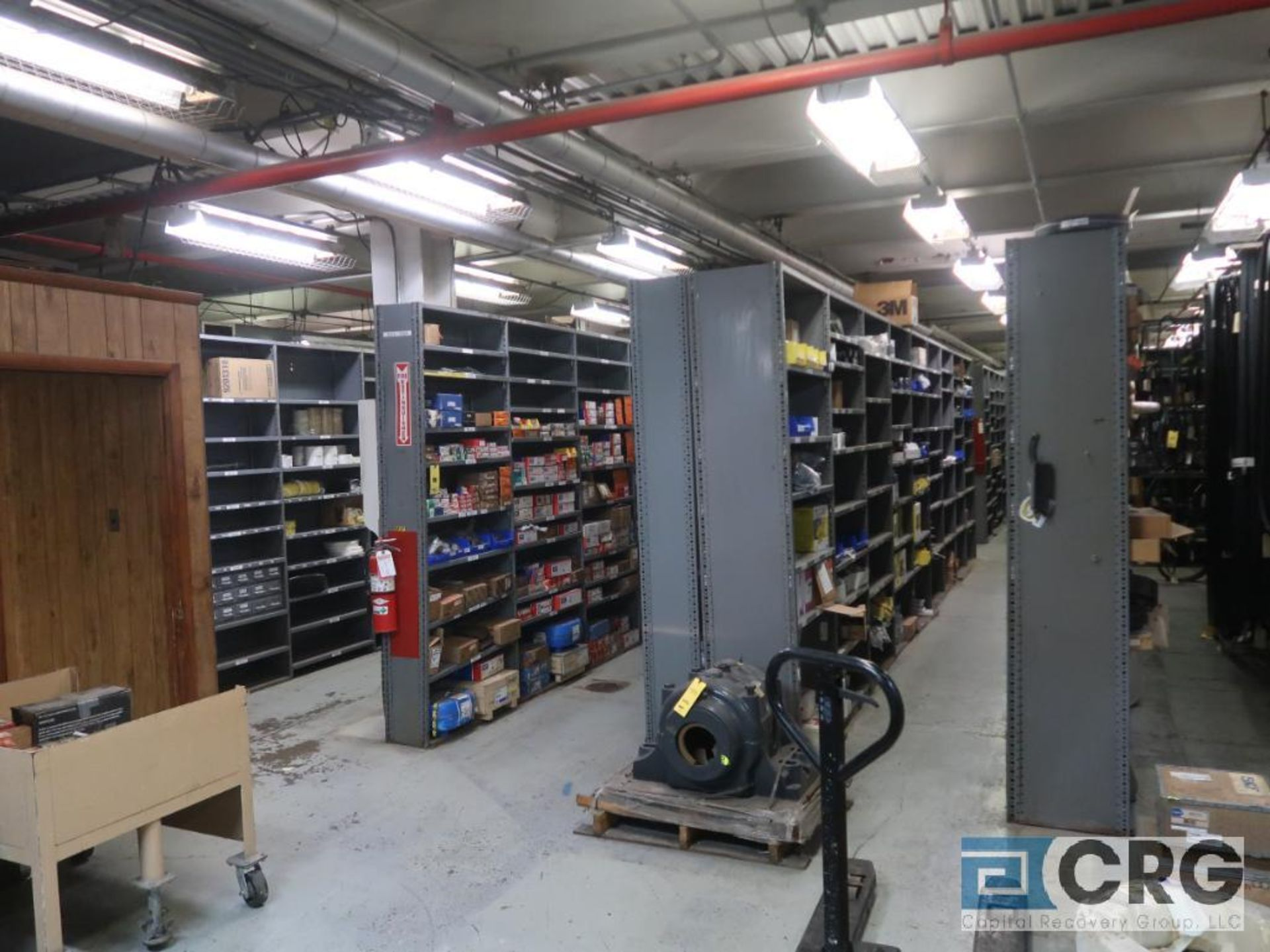 Lot of (135) sections metal shelving (Front of Stores Area) - Image 9 of 9