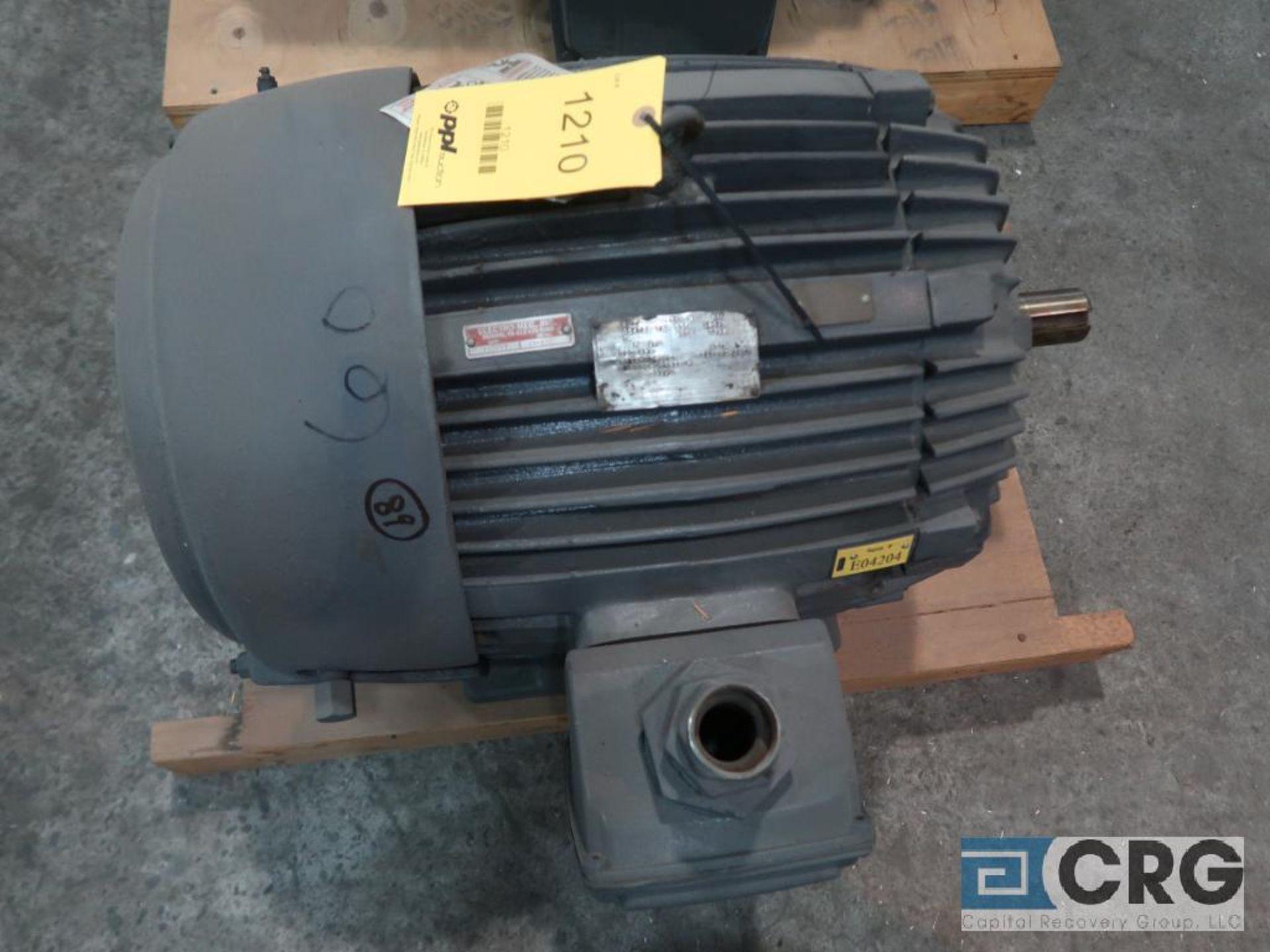 U.S. Electrical Motors electric motor, 60 HP, 1,775 RPMs, 230/460 volt, 3 ph., 364TS frame (Finish