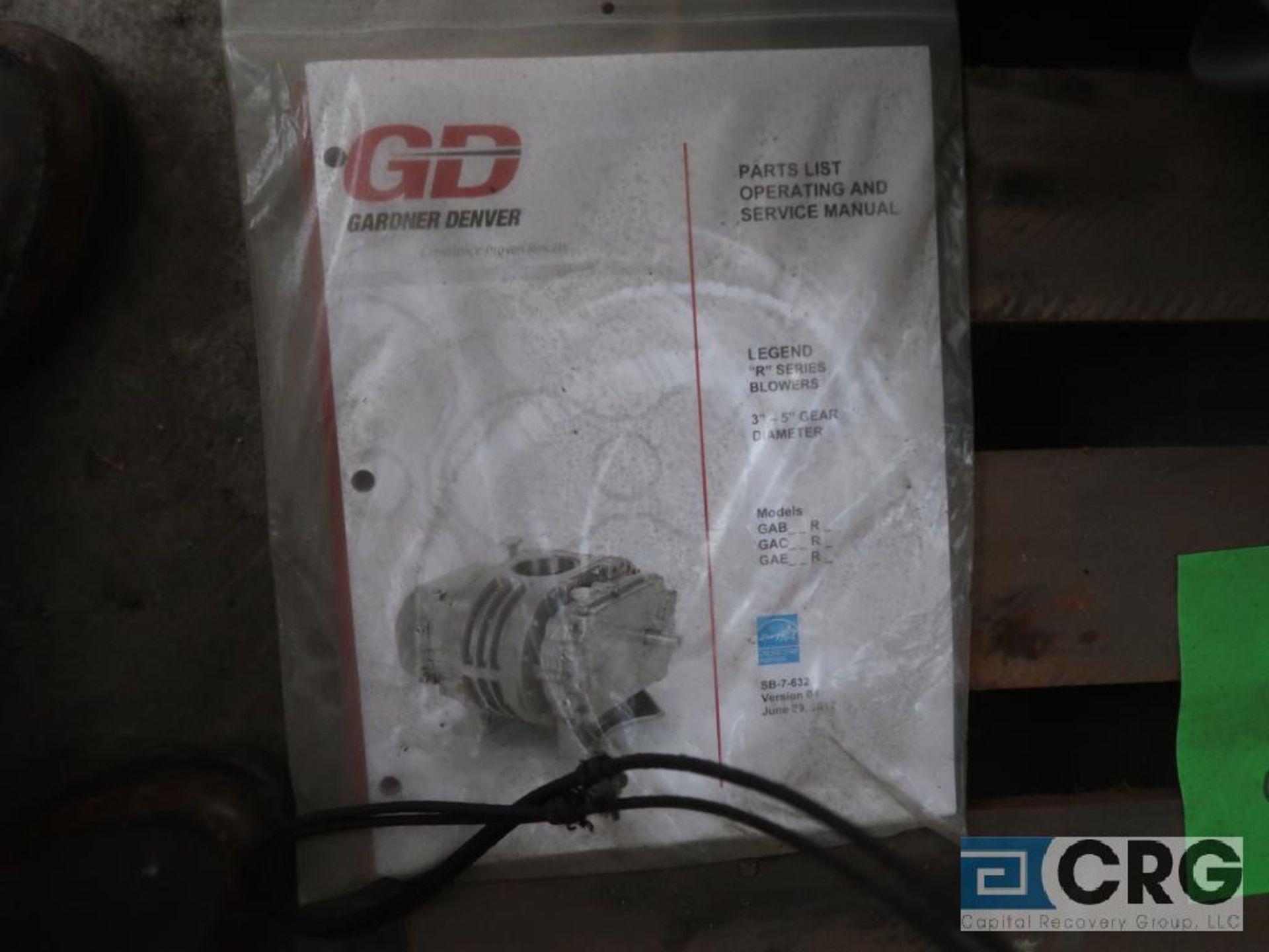 Gardner Denver GAELDRA 5 LR rotary blower, s/n 472724 (Off Site Warehouse) - Image 2 of 2