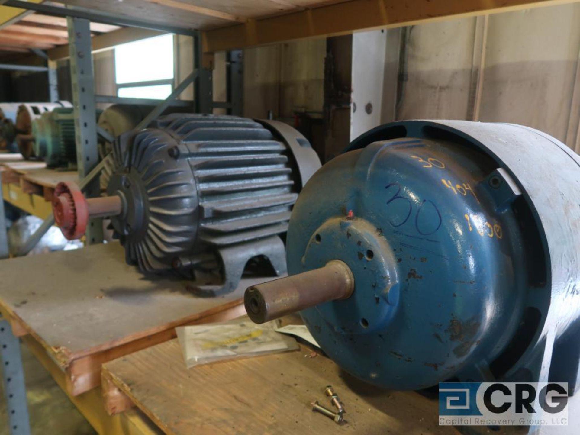 Lot of (3) assorted 30 HP motors (Motor Building) - Image 2 of 2