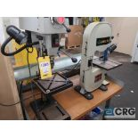 """Lot of ass't Delta bench top tools including (1) 10"""" vertical band saw m/n BS150LS, (1) 12"""" vertical"""