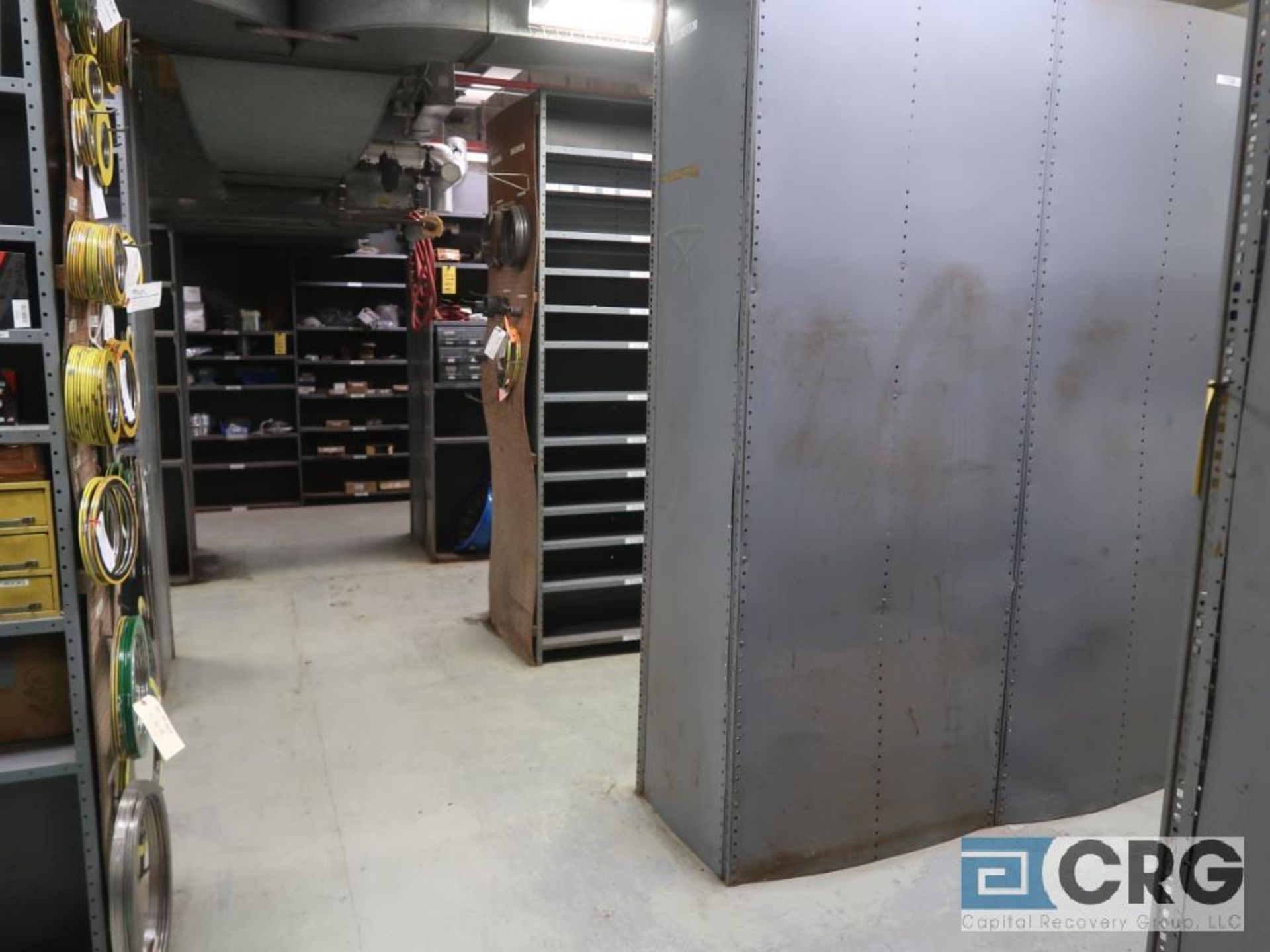 Lot of (135) sections metal shelving (Front of Stores Area) - Image 7 of 9