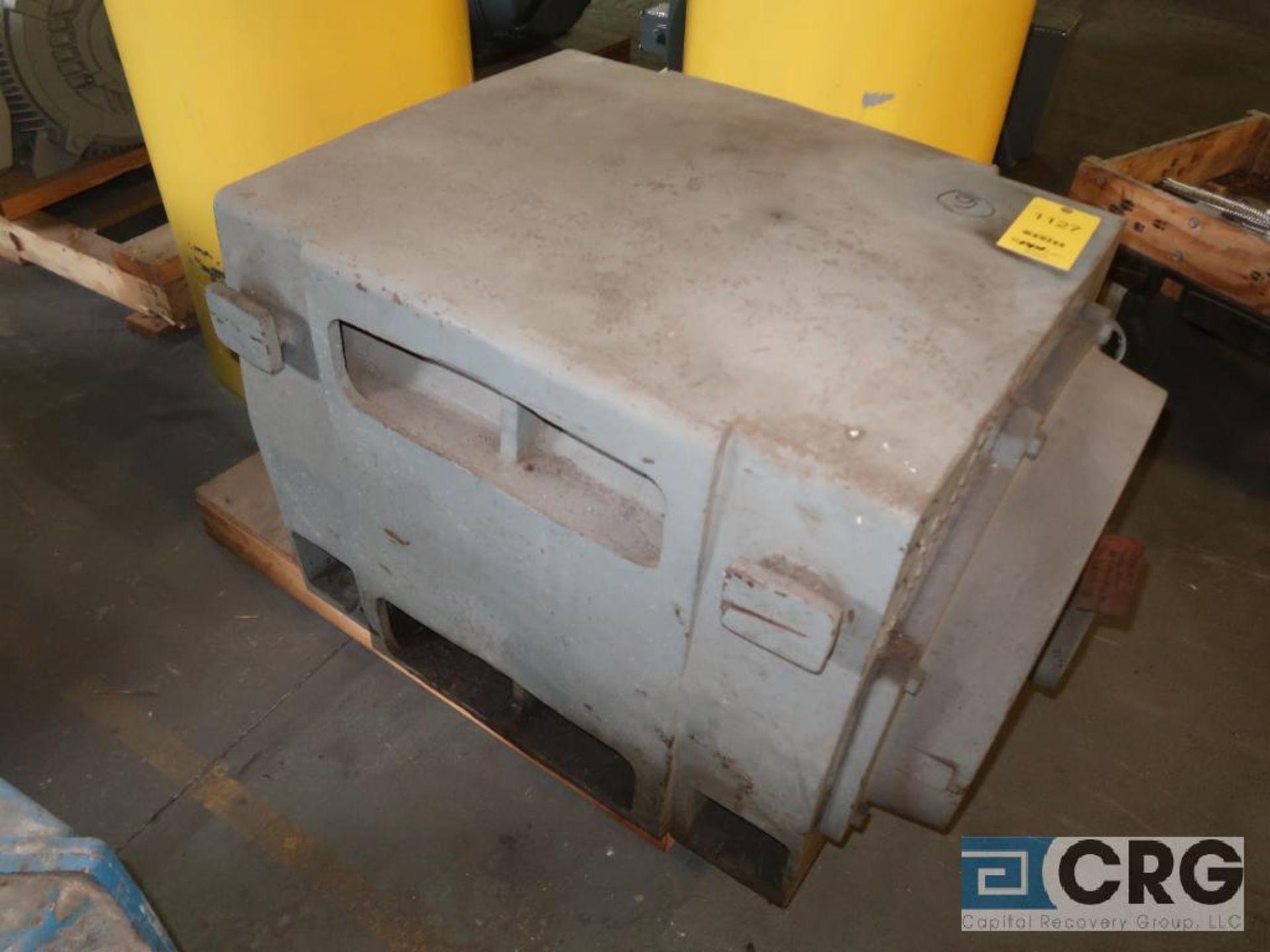 General Electric A-C motor, 300 HP, 1,185 RPMs, 2,300 volt, 3 ph., 509LL frame (Finish Building)