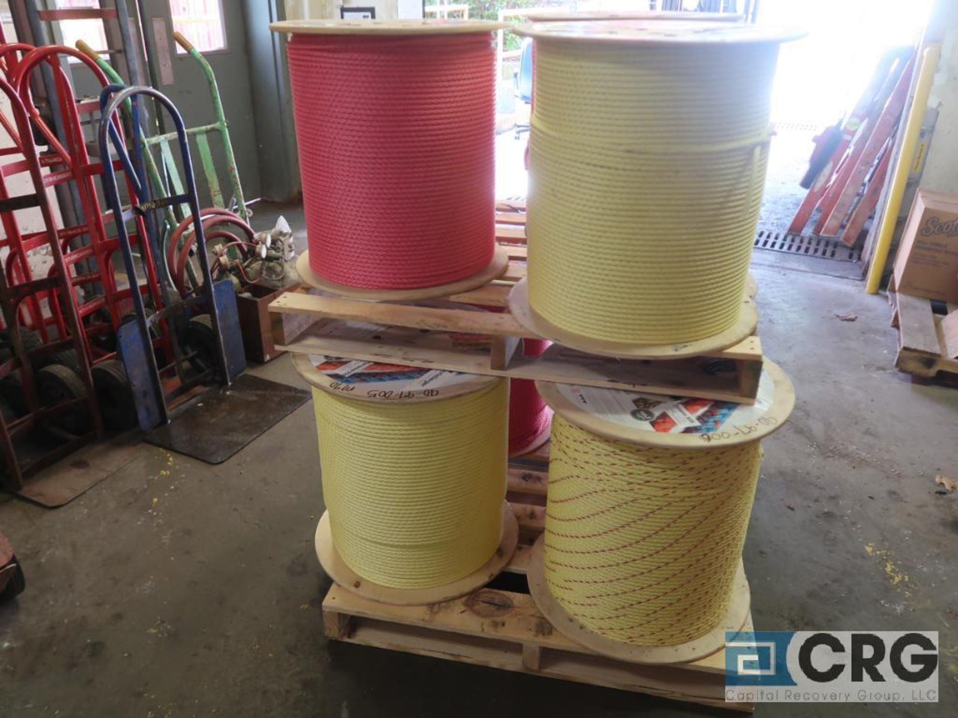 Lot of (7) rolls nylon rope (Stores Area) - Image 2 of 2