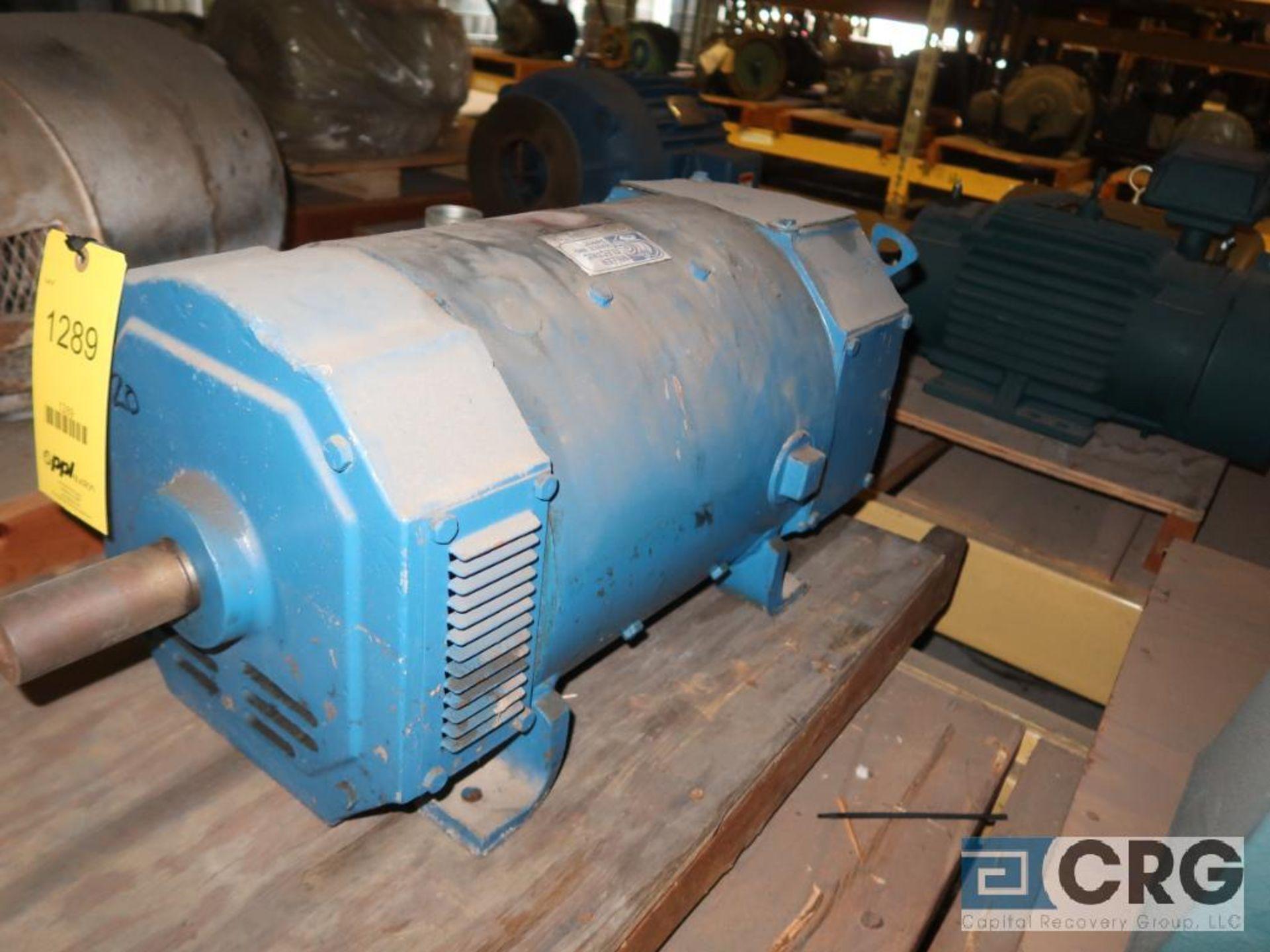 Lot of (4) assorted 20 HP motors (Motor Building) - Image 2 of 4