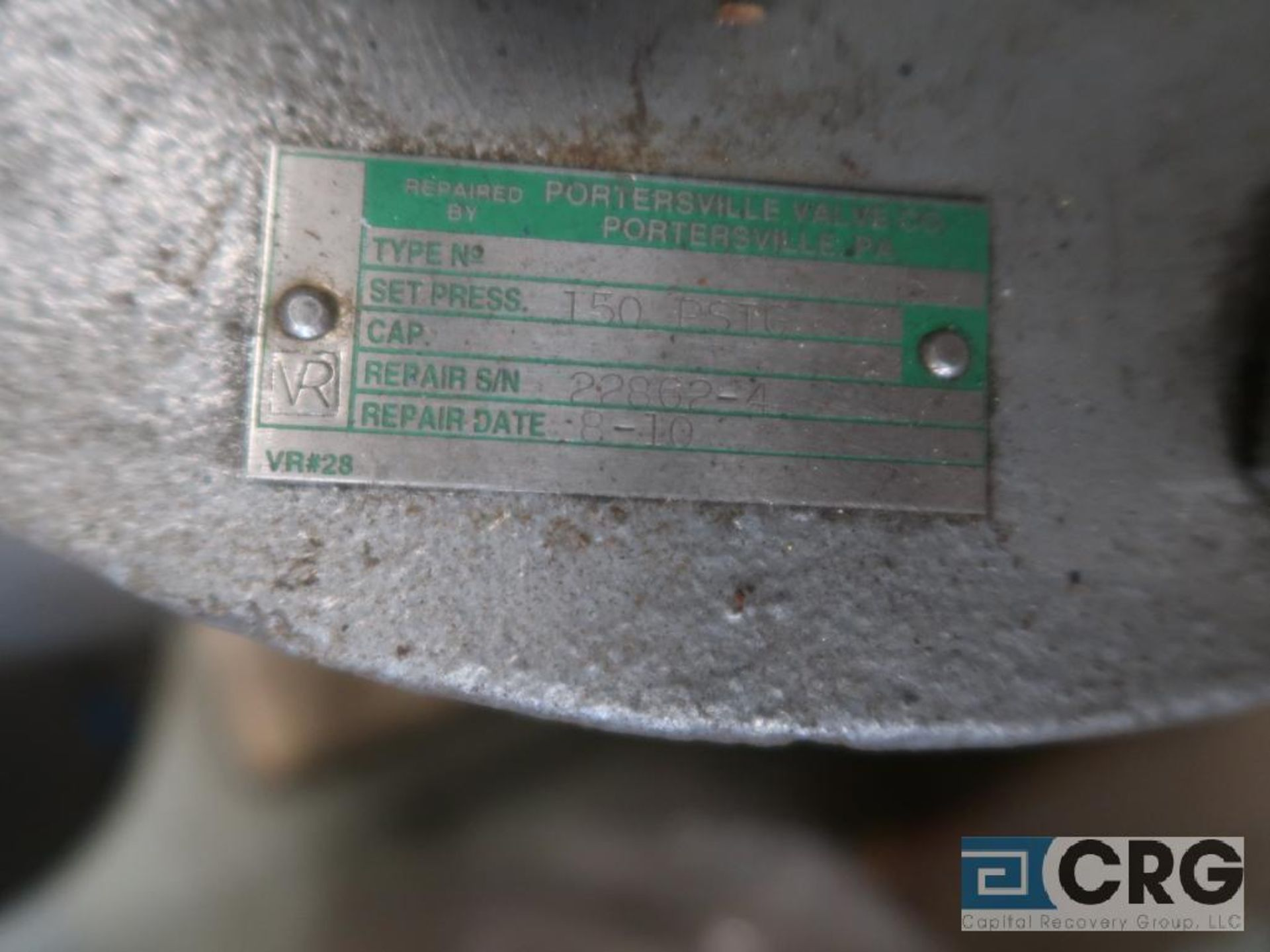 Consolidate 8 in. safety relief valve CL 150 (Store Basement) - Image 2 of 2