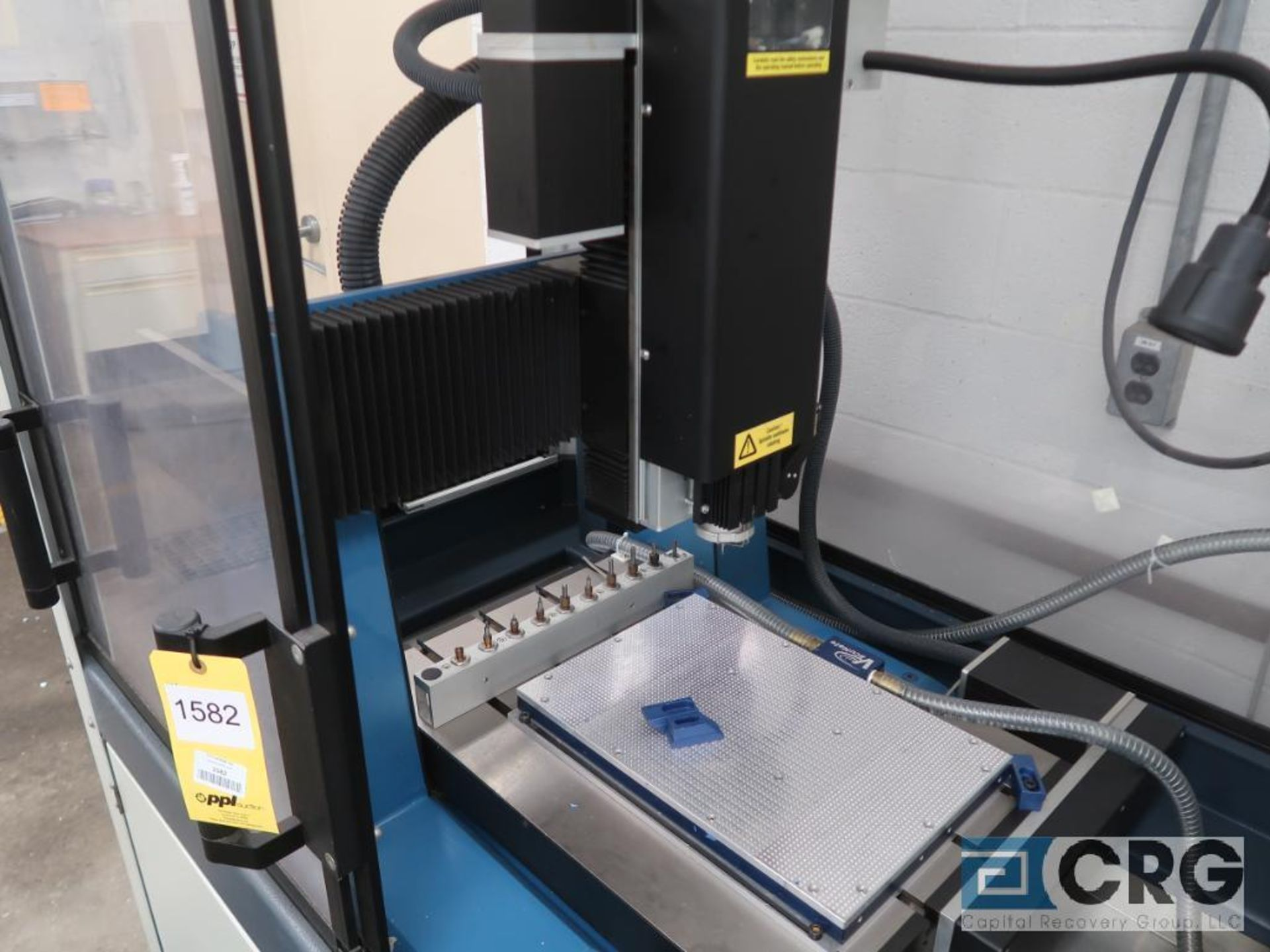 2001 Datron illing engraving center, m/n CAT3D-M4, s/n 40681, 3 axis, CNC, 9 position tool - Image 2 of 8