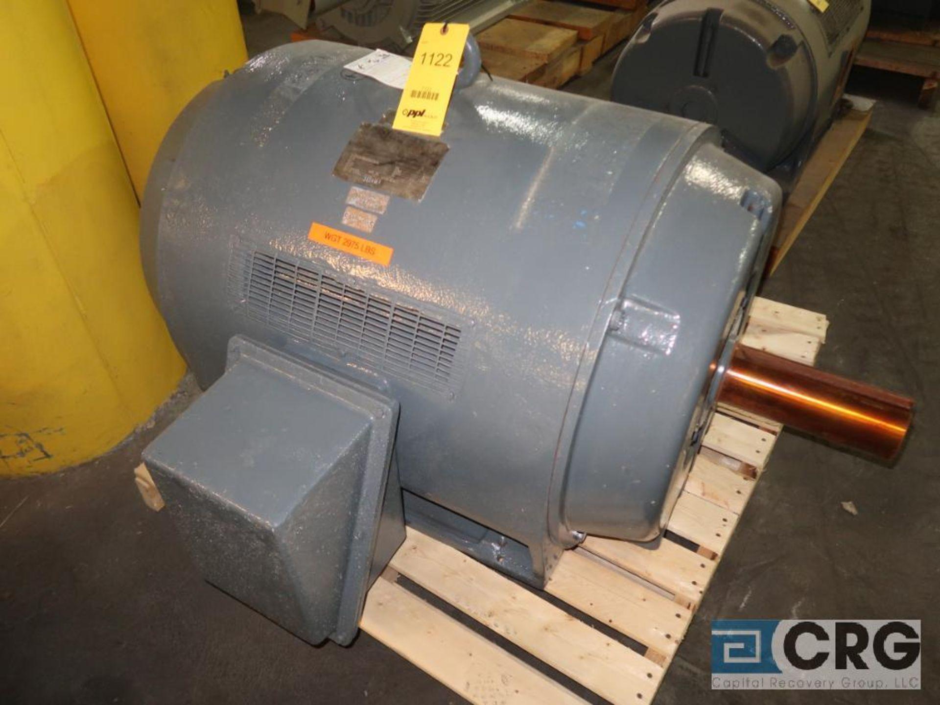 Siemens-Allis induction motor, 400 HP, 1,185 RPMs, 2,300 volt, 3 ph., 507U frame (Finish Building)