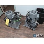 Lot of (2) Parker D51SCOPO/20 portable hydraulic power units, 2,310 psi, upstairs, s/n's M0ZC08