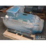 WEG electric motor, 200 HP, 1,185 RPMs, 460 volt, 3 ph., 447/9T frame (Finish Building)