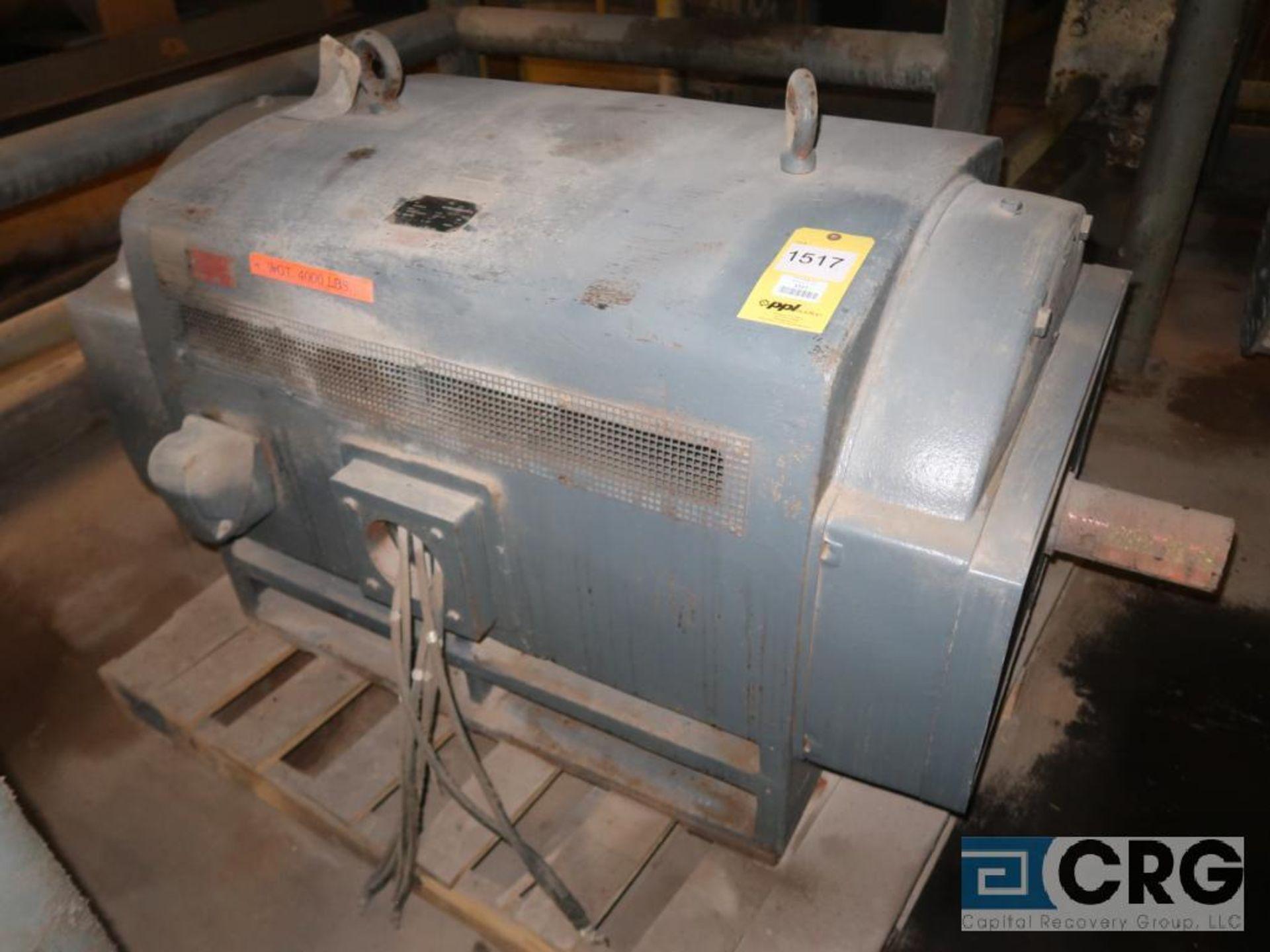 JS motor, 350 HP, 880 RPM, 2,300/4,100 volts, frame 5809S, equipment #E03030 (496 Dock Area)