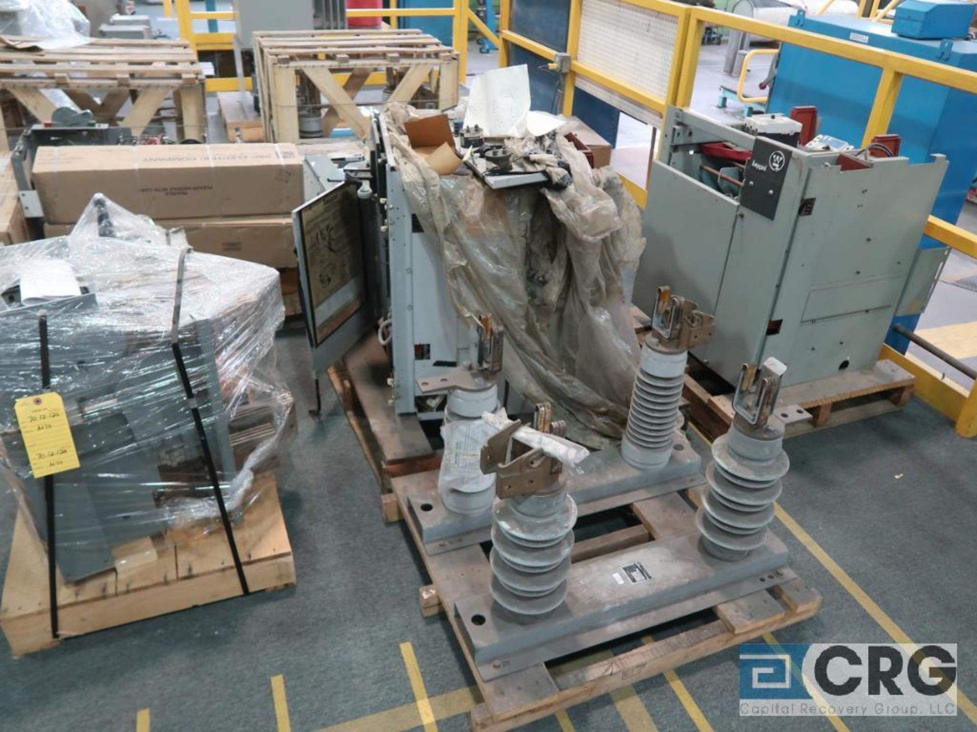 Lot of (8) pallets of electrical including fuse holders, amgard, and breakers (Finish Building) - Image 3 of 3